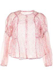 Renli Su Blusa con stampa paisley - Rosa