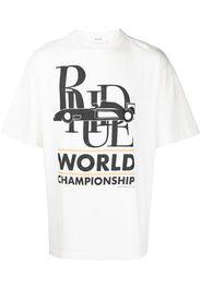 Rhude T-shirt World Champion - Bianco