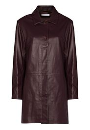 recycled leather coat