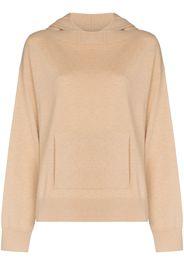 Rosetta Getty cashmere knitted hoodie - Toni neutri