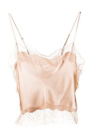 silk cropped camisole