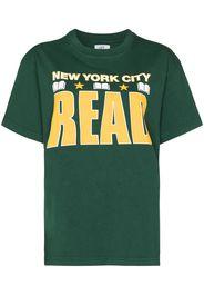 Saint Ivory NYC NYC print short-sleeve T-shirt - Verde