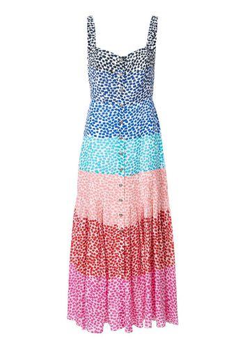 Vestito con design color-block