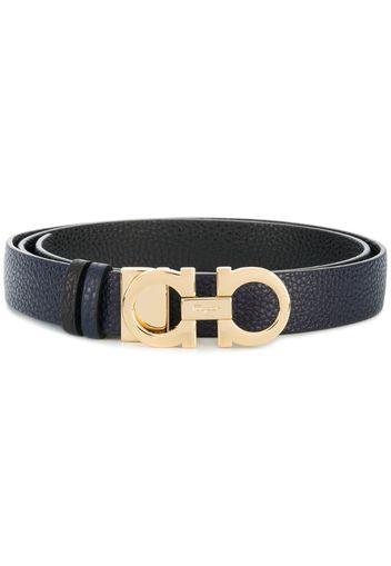 Cintura con fibbia doppia 'Gancini'