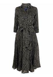 Samantha Sung floral shirt dress - Nero