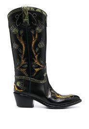 Stivali stile Western al ginocchio