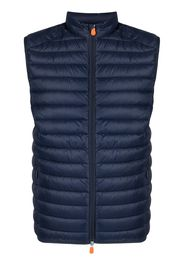 Save The Duck D82410M GIGA12 padded gilet jacket - Blu