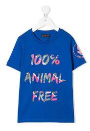Save The Duck Kids T-shirt 100% Animal Free - Blu