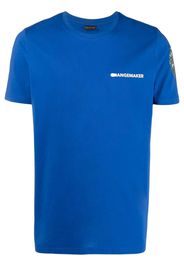 Save The Duck T-shirt Oscar con stampa - Blu