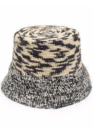 Sensi Studio Lamp Shade bucket hat - Nero