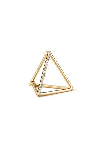 Orecchino Diamond Triangle Earring 15 (01)