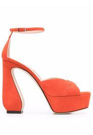 Si Rossi Sandali con dettaglio cut-out - Arancione