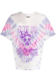 Himalayas tie-dye print T-shirt