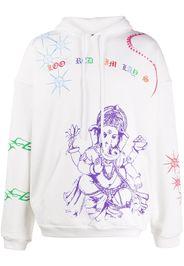 Himalayan Tattoo print hoodie