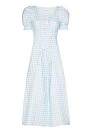 Sleeper Marquise gingham dress - Blu