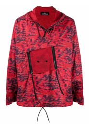Stone Island Shadow Project Giacca con stampa - Rosso
