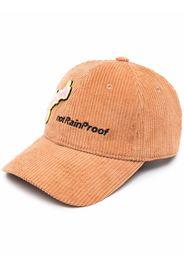 Styland Not Rain Proof corduroy cap - Marrone