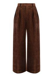 Sueundercover Pantaloni a vita alta - Marrone