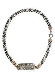 14kt rose gold diamond Ten Table wrap bracelet