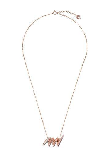 Collana Surge in oro 18kt con perle Akoya