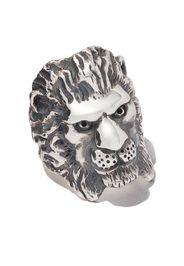 Anello con testa di leone
