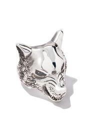 Anello a forma di lupo