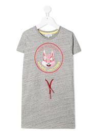 The Marc Jacobs Kids Vestito modello T-shirt con stampa - Grigio