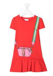 The Marc Jacobs Kids Vestito modello T-shirt con stampa - Rosso