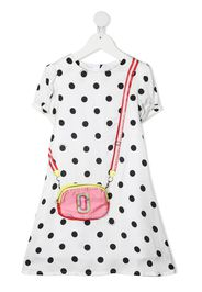 The Marc Jacobs Kids Vestito a pois - Bianco