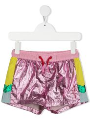 The Marc Jacobs Kids Shorts metallizzati - Rosa