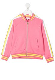 The Marc Jacobs Kids Bomber a righe - Rosa