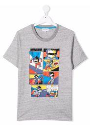 The Marc Jacobs Kids TEEN cartoon-print cotton T-Shirt - Grigio