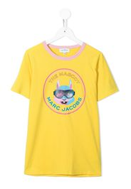 The Marc Jacobs Kids T-shirt con stampa - Giallo