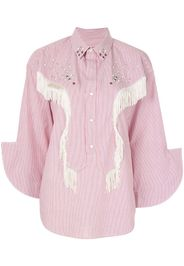 Camicia con frange