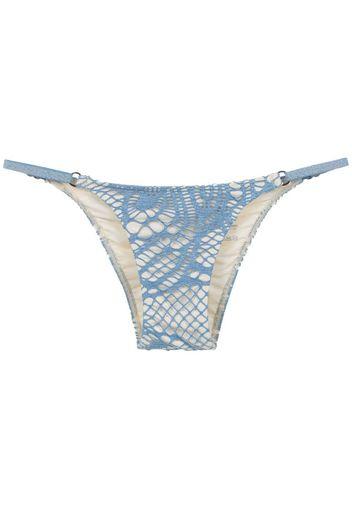 Slip bikini con stampa