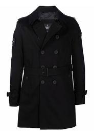 TRENCH LONDON Rake-slim trench coat - Nero