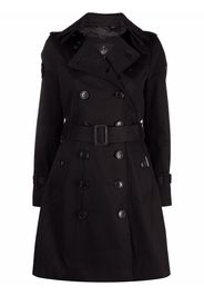 TRENCH LONDON belted double-breasted trench coat - Nero