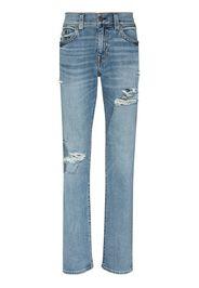 True Religion Rocco no flap skinny jeans - Blu