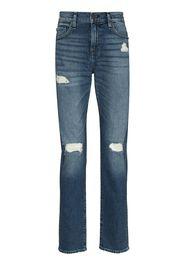 True Religion Rocco slim-cut ripped jeans - Blu