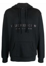 True Religion logo-print hoodie - Nero