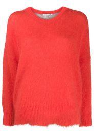 oversized long-sleeved jumper