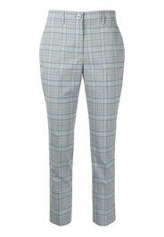 TWINSET Pantaloni a quadri - Grigio