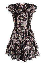 TWINSET paisley-print skater dress - Nero