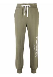 TWINSET Pantaloni sportivi con stampa - Verde