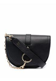 TWINSET chain-embellished crossbody bag - Nero