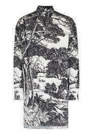 UNIFORME Camicia con stampa - Nero