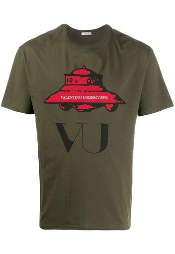 T-shirt UFO VU con stampa