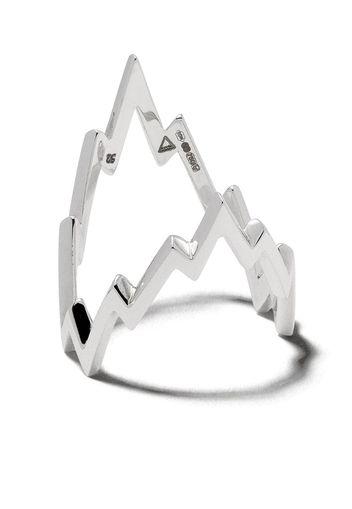 Miss Zeus White Ring