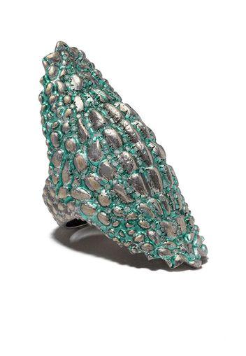 Green Lady Caiman Ring