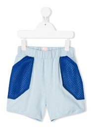 Inside Out mesh panel shorts